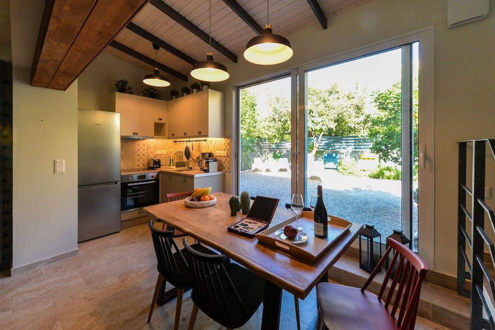 Luksusa dzīvokļnumurs, trīs guļamistabas, skats uz dārzu - Dzīvojamā zona