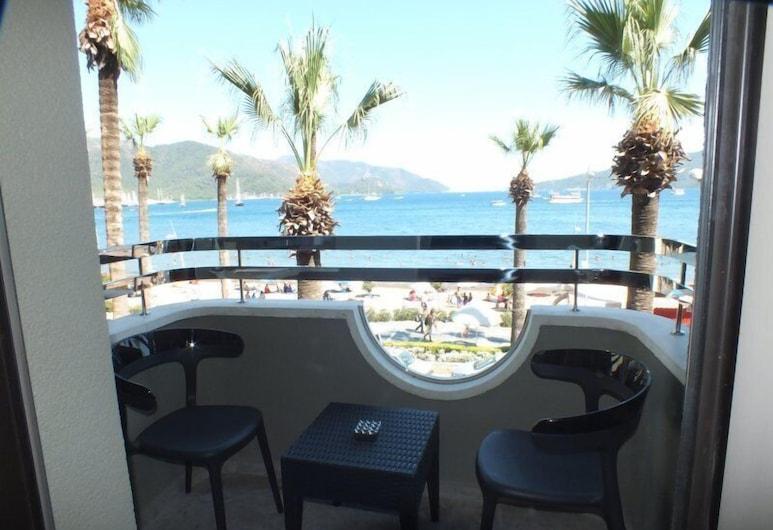 Candan City Beach Hotel, Marmaris, Balkon