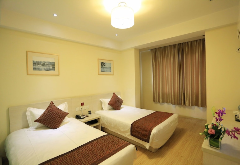 Wuyang Inn Hangzhou, Hangzhou, Comfort-værelse med 2 enkeltsenge, Værelse