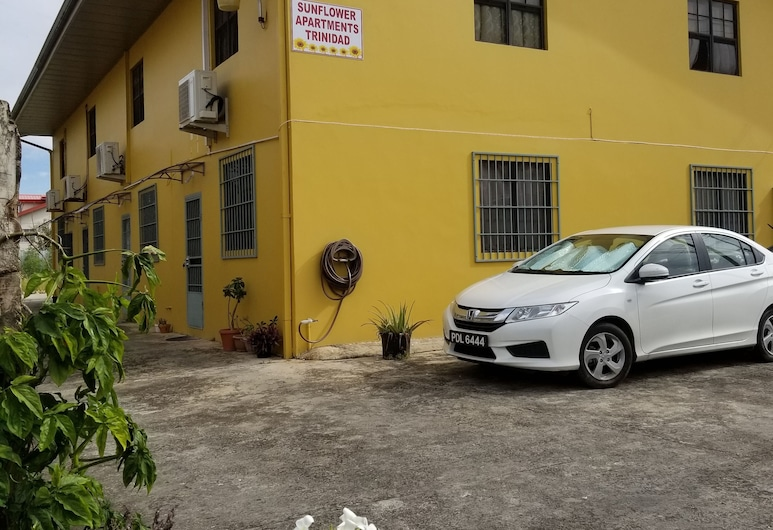 千里達及托巴哥向日葵公寓, 庫瓦, 住宿範圍