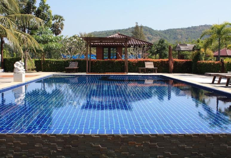 Waterside Resort, Pran Buri, Výhľad na hory