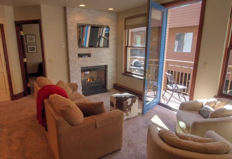 Ballard House 207A by RedAwning, Telluride, Appartement, 2 slaapkamers, Woonruimte