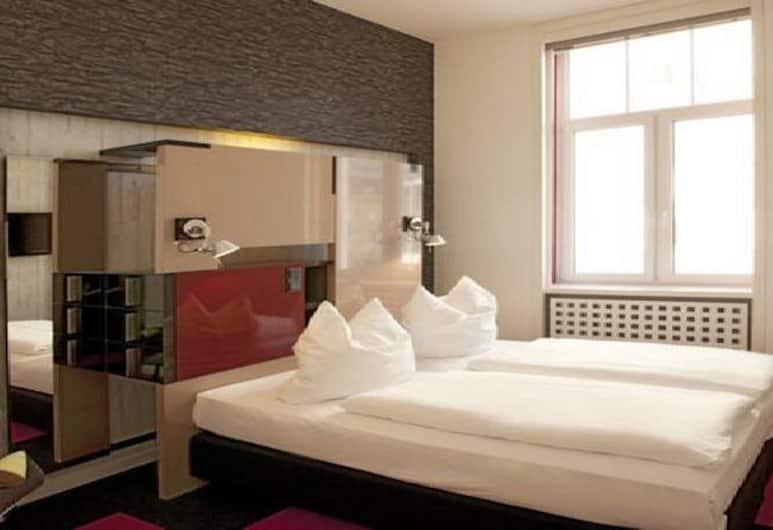 호텔 크리스탈, 프랑크푸르트, 스탠다드 더블룸, 객실