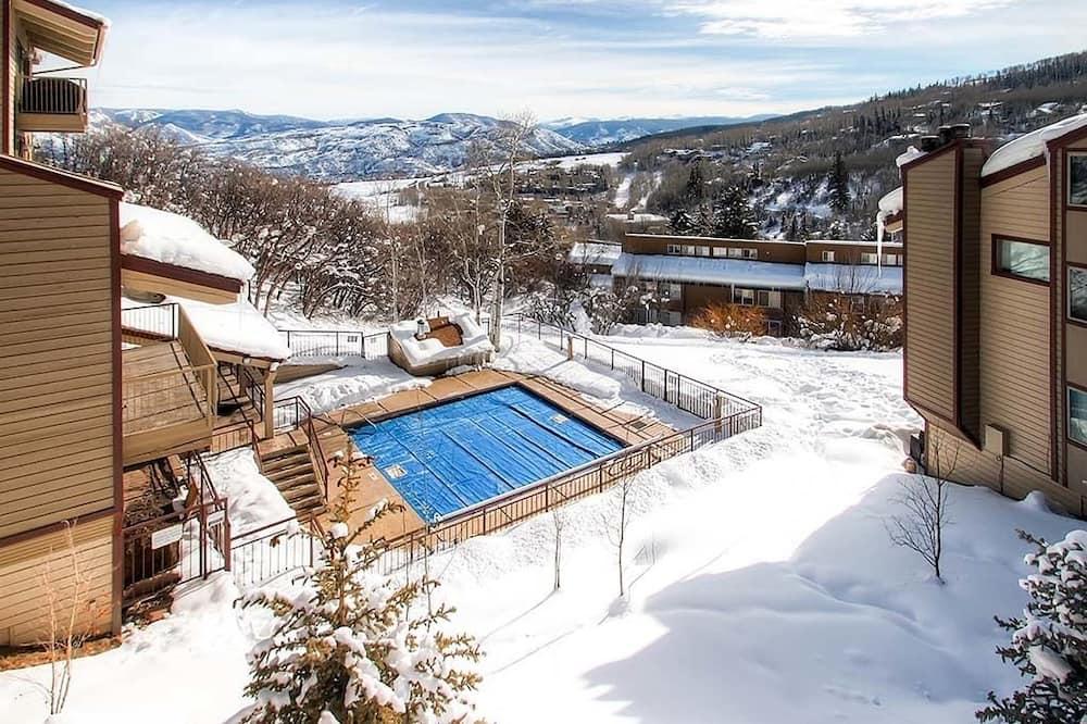 公寓式客房, 3 间卧室, 露台, 山景 (Snowmass Mountain D3) - 游泳池