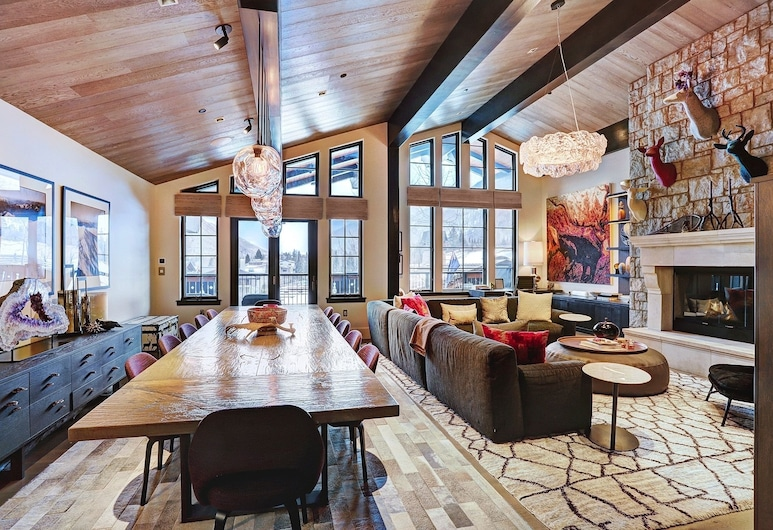 LAV Chalet #10, Vail, House, 6 Bedrooms, Living Room
