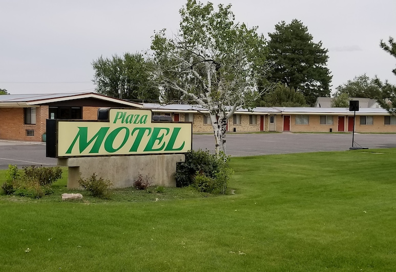Plaza Motel, Preston, Façade de l'hôtel