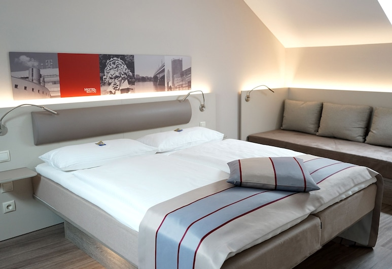 Hotel Bonn City, Bonn, Sviitti, 2 makuuhuonetta, Vierashuone