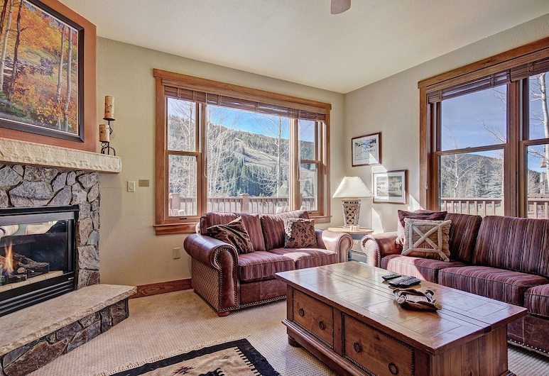 2345 Red Hawk Townhome 2 Bedroom Townhouse, Keystone, Townhome - 2 sovrum, Vardagsrum