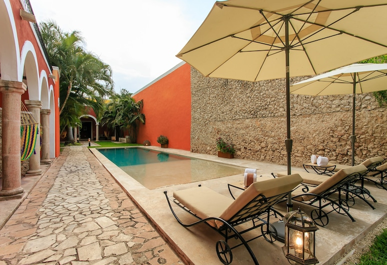 Art 64 Hotel Boutique - Adults Only, Mérida, Terrasse/Patio