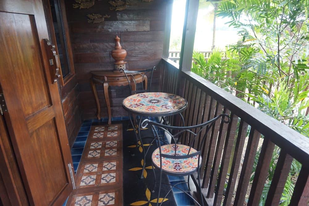Deluxe dvokrevetna soba - Balkon