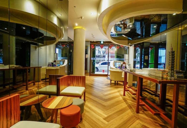 能量旅店-台北車站館, 台北市, 大廳