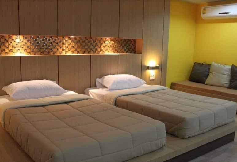 Kaennakorn Khonkaen Hotel, Khon Kaen, Suite Twin Room, Gjesterom