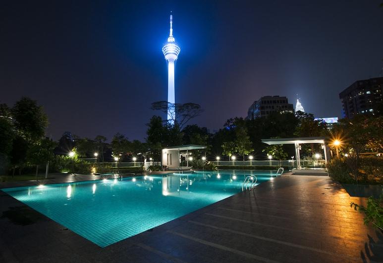 AirPorter Bukit Bintang Residence, Kuala Lumpur, Outdoor Pool