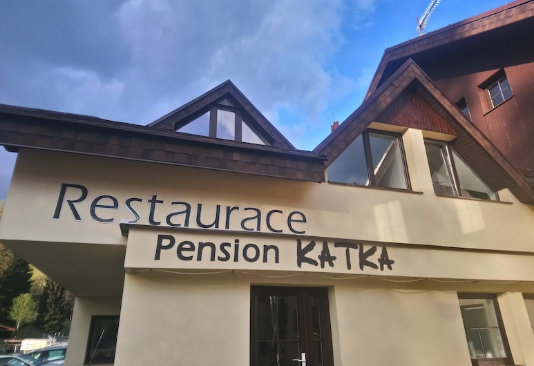 Pension Katka Harrachov, Harrachov, Otelin Önü