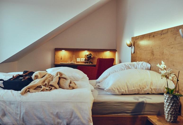 die burg, Donaueschingen, Classic-dobbeltværelse - 1 dobbeltseng, Værelse