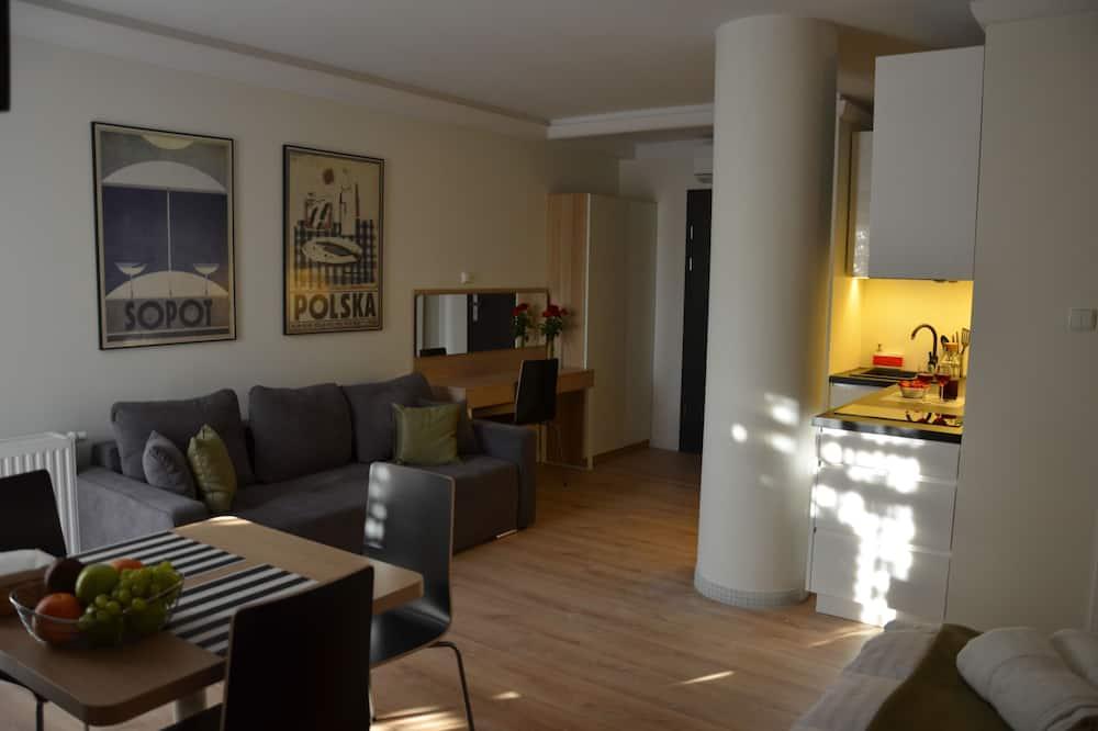 Studio Deluxe, taras (Sopot) - Powierzchnia mieszkalna