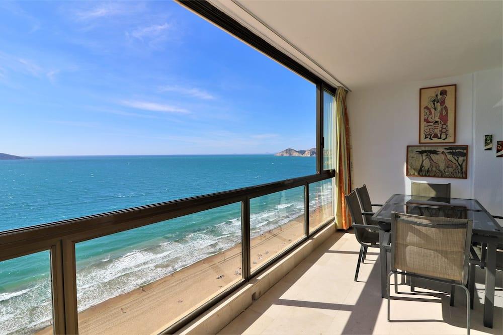 Apartament, 3 sypialnie, widok na morze - Taras/patio