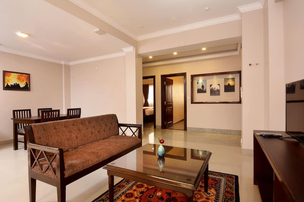 家庭套房, 2 間臥室 - 客廳