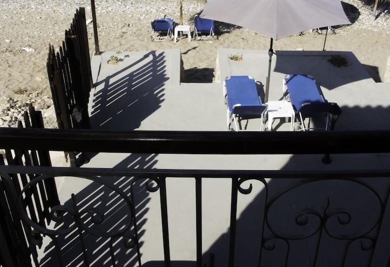 Creta Seafront Residences, Rethymno, Deluxe Villa, Beach View, Beachfront, Balkoni