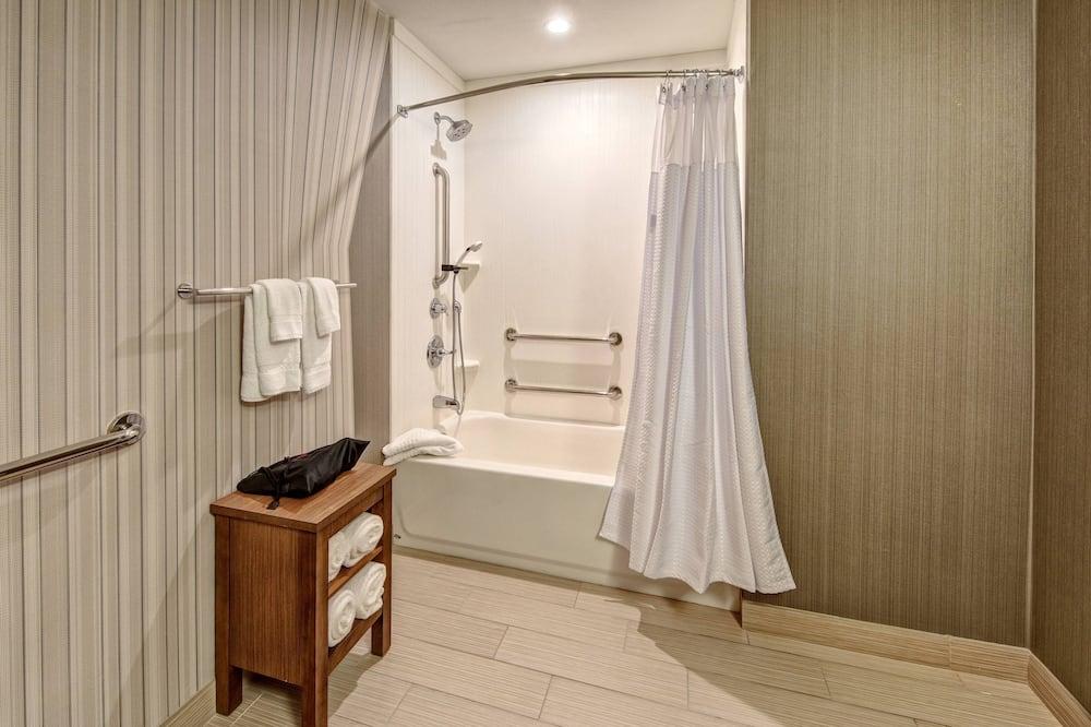 Suite, 1 spavaća soba, za nepušače, kut zgrade - Kupaonica