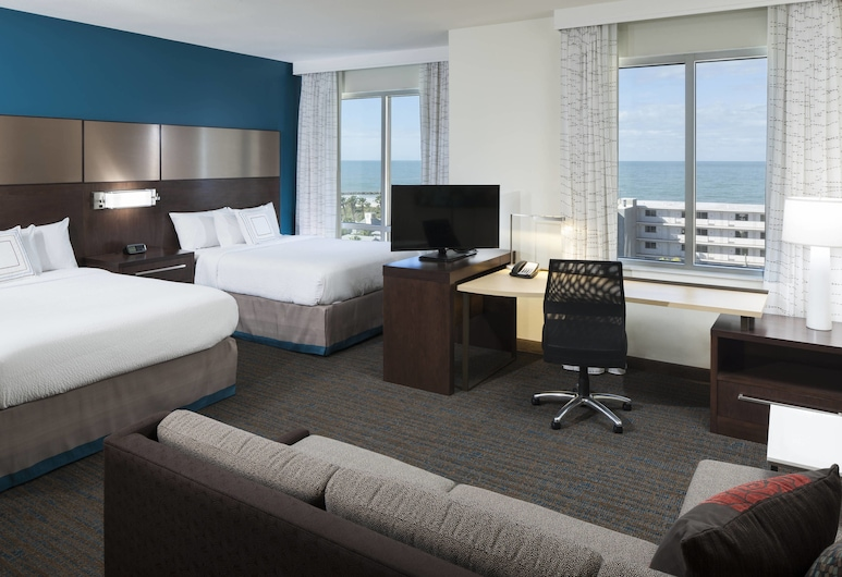 Residence Inn by Marriott Clearwater Beach, Clearwater Beach, Studio, 2 Queen Beds, Non Smoking, Guest Room