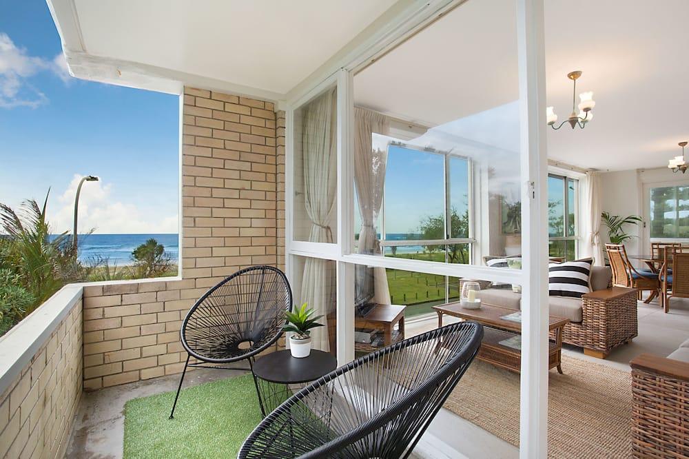Deluxe appartement, 3 slaapkamers, uitzicht op zee - Balkon