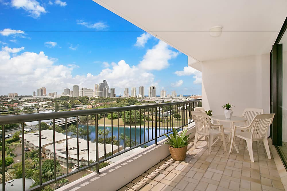 Deluxe appartement, 3 slaapkamers, 2 badkamers - Balkon