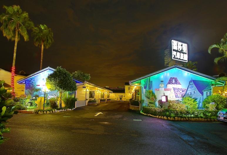溫莎堡汽車旅館, 台南市, 飯店入口 - 夜景