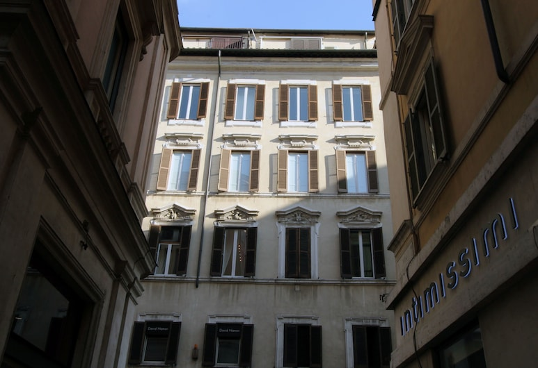 Ottoboni Flats, Rome, Front of property