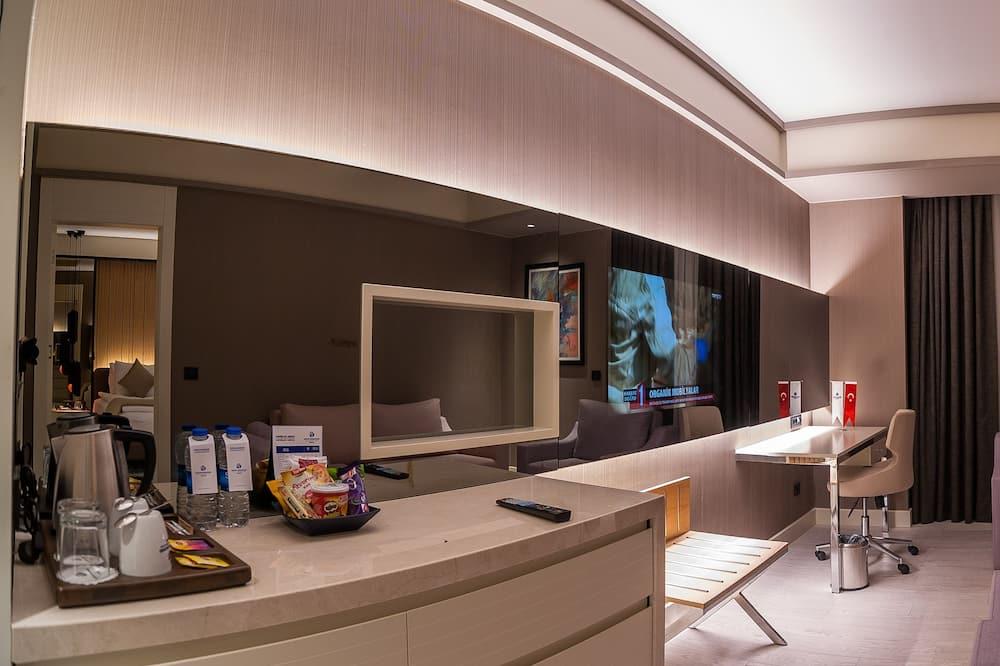 Phòng Suite Executive, 1 phòng ngủ - Khu phòng khách