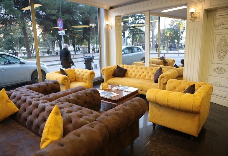 Amisos Hotel, Samsun, Sitzecke in der Lobby