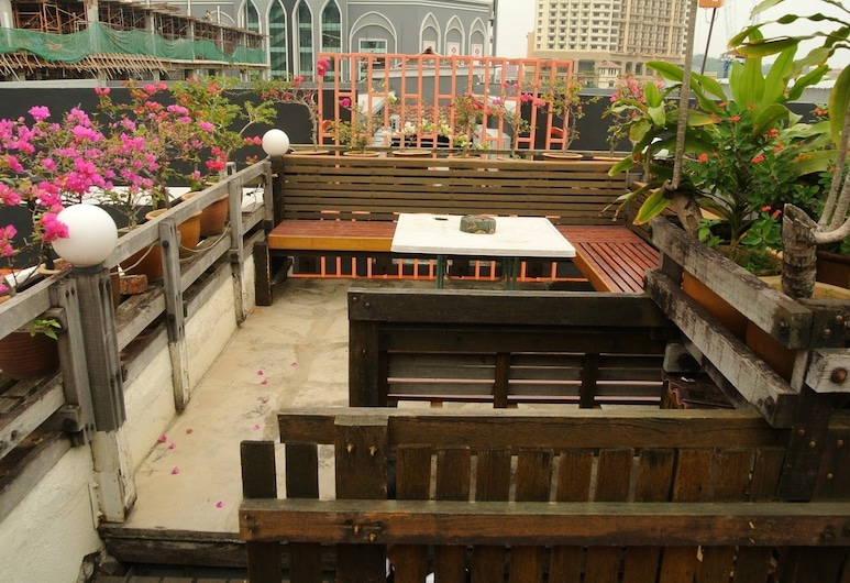 Johan Travellers Lodge, Malacca City, Terrasse/Patio