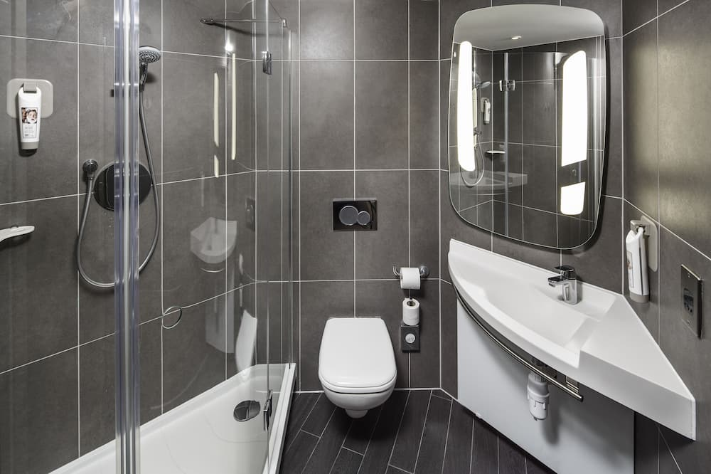 Chambre avec lits jumeaux, 2 lits une place (SweetRoom by Ibis) - Salle de bain