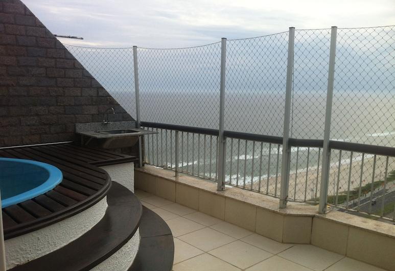 Aparthotel Penthouse Barra - BAR26, Rio de Janeiro, Bazen na krovu