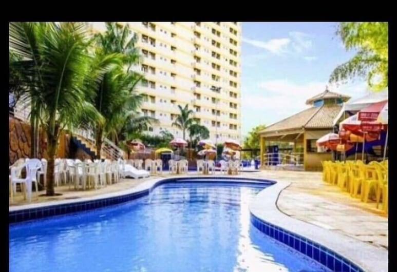 Golden Dolphin Grand Hotel - Apartamento, Калдас-Новас, Открытый бассейн