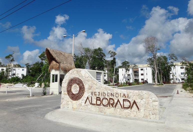 Tropical Paradise Apartment, Puerto Morelos, Property entrance