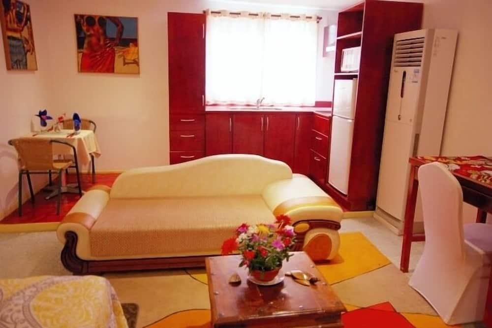 חדר, מיטת קווין - אזור מגורים