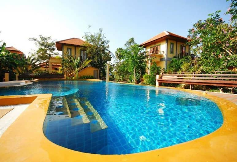 Baanbali Beach Resort, Pranburi, Buitenzwembad