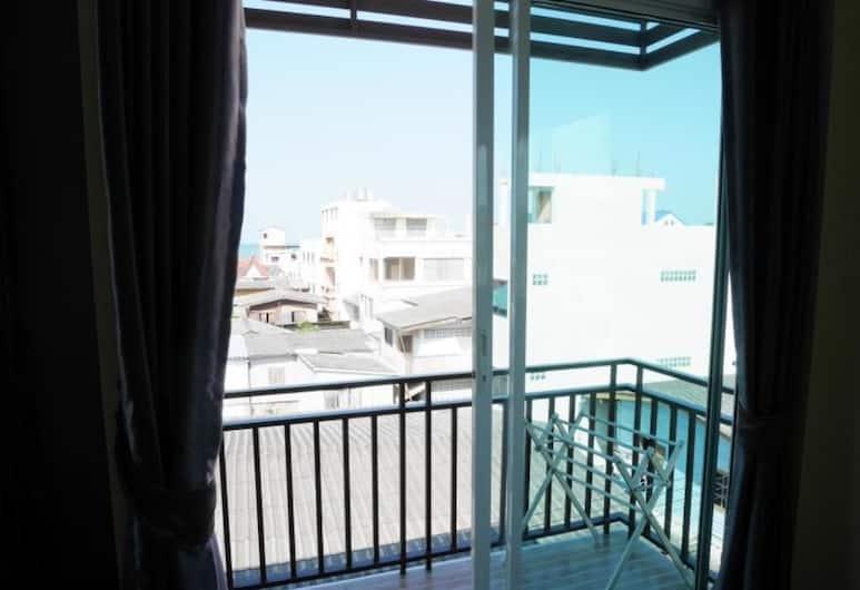 華欣班優岩 57 號酒店, 華欣, Standard Room with Balcony, 露台