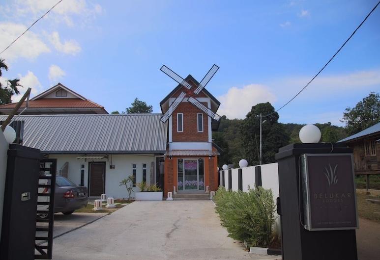 Belukar Lodges, Langkawi, Entrada del hotel