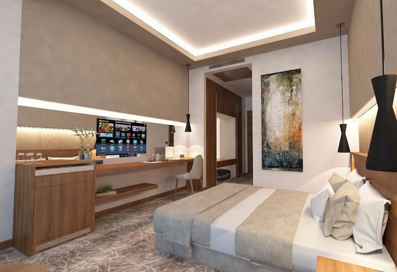 Armoni Park Otel, Kastamonu, Habitación Deluxe, Sala de estar