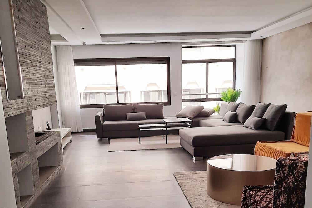 Căn hộ Deluxe - Khu phòng khách