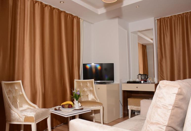 Safran City Hotel & Spa, Safranbolu, Junior Σουίτα, Περιοχή καθιστικού