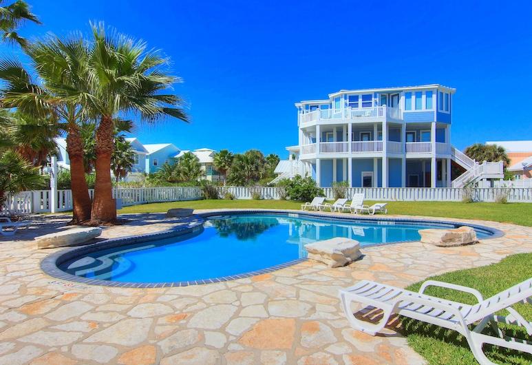 Red Neck Riviera 3 Bedroom Home, Port Aransas, Bazen