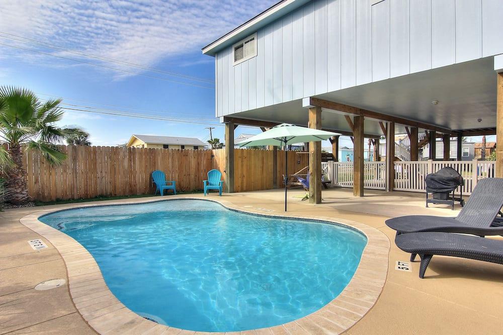 บ้านพัก, 3 ห้องนอน - สระว่ายน้ำกลางแจ้ง