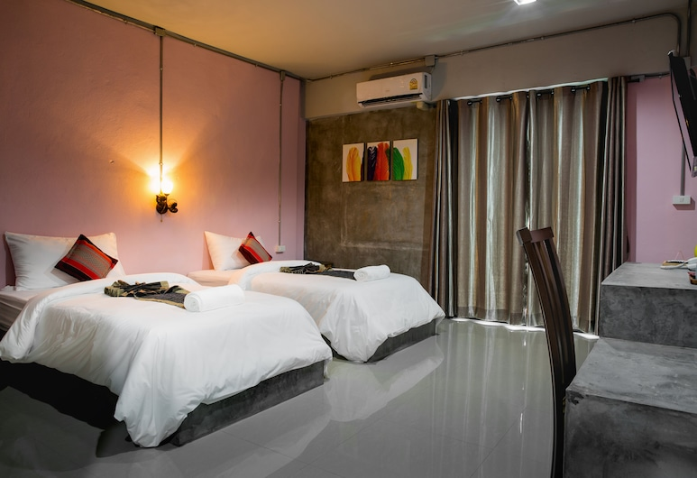 The Guest Hotel - Hostel, Krabi, Superior Twin room, Kamer