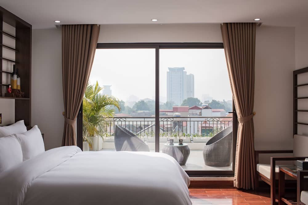 Brandi Fuji Suite  - Vue depuis le balcon