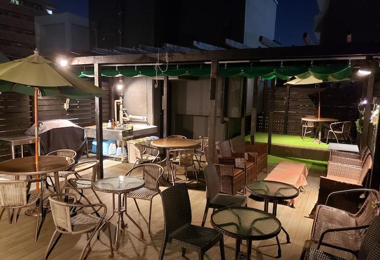 心齋橋 E 青年旅舍, 大阪, 陽台