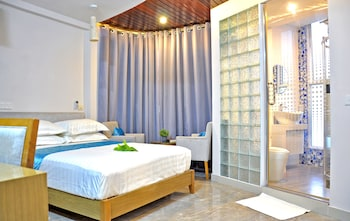 Hulhumalé Adası bölgesindeki Hotel Star Shell resmi
