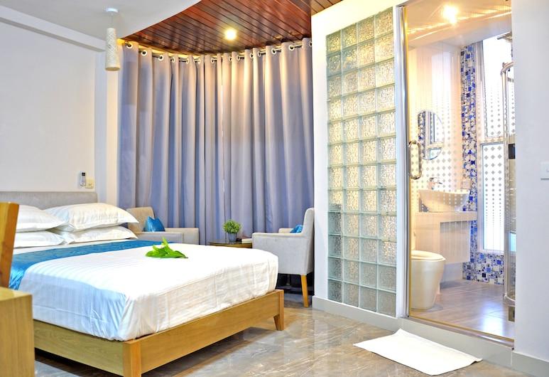 Hotel Star Shell, Hulhumalé, Superior-huone, Vierashuone